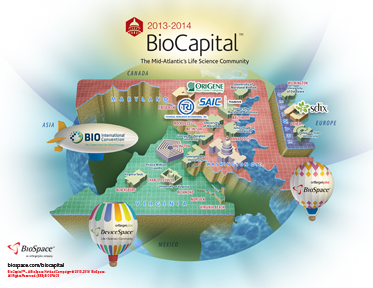 Click on the Sample BioCapital Map!