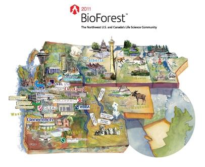 BioForest Map