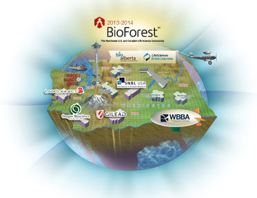 Click on the Sample BioForest Map!