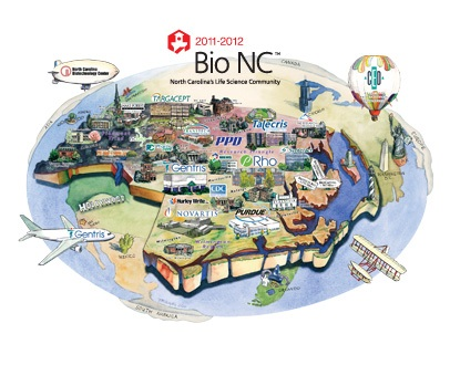 Bio NC Map