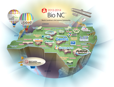 Click on the Sample Bio NC Map!