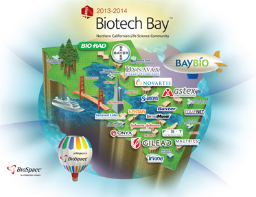 Click on the Sample Biotech Bay  Map!