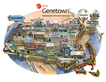 Click on the Sample Genetown Map!