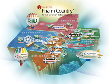Click on the Sample Pharm Country Map!