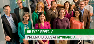 HR Exec Reveals In-Demand Jobs at MyoKardia