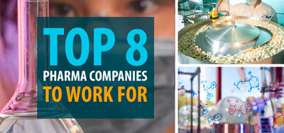 The Top 8 Pharma Companies to Work for