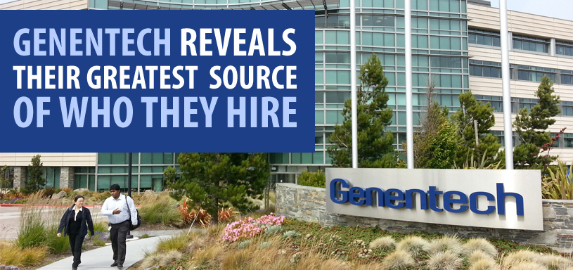 Genentech Reveals Their Greatest Source of Who They Hire