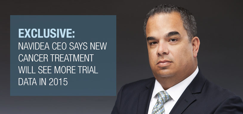 EXCLUSIVE: Navidea CEO Tells BioSpace New Cancer Treatment Will See More Trial Data in 2015