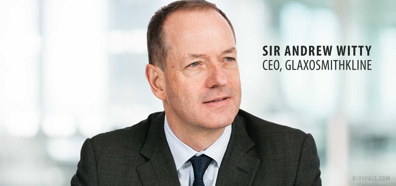 GlaxoSmithKline CEO Sir Andrew Witty to Step Down in 2017