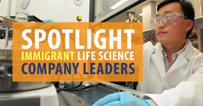 Spotlight on Immigrant Life Science Company Leaders in Massachusetts