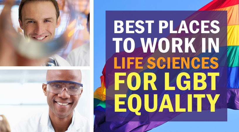 Best Places to Work in Life Sciences for LGBT Equality