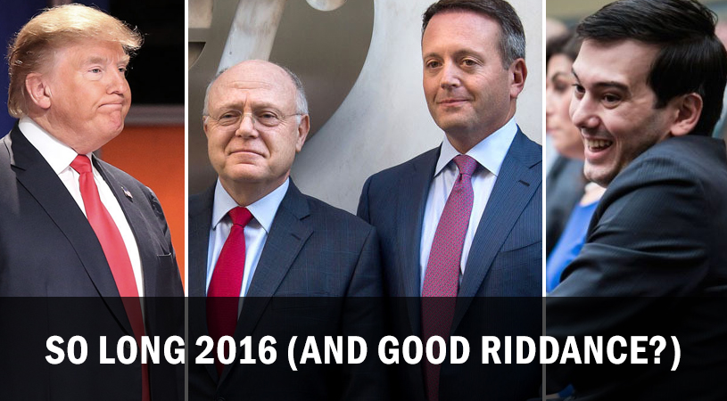 So Long 2016 (and Good Riddance?)