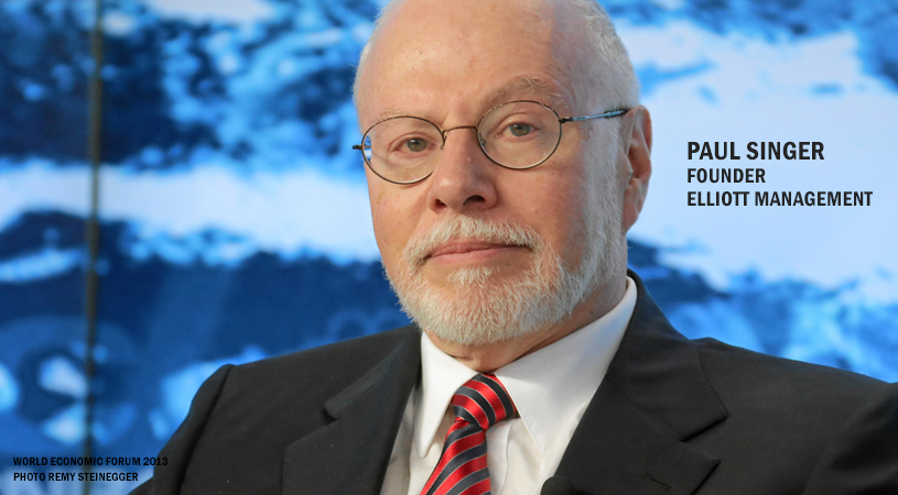 Paul Singer's Hedge Fund Sues AbbVie Over Failed 2014 Shire Merger