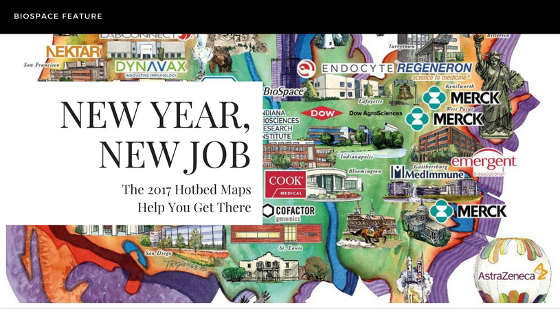 Map Your Life Sciences Career with the 2017 Hotbeds