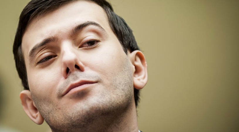 Pharma Bro Martin Shkreli Heckles Hillary Clinton: 'Are You Alive?'
