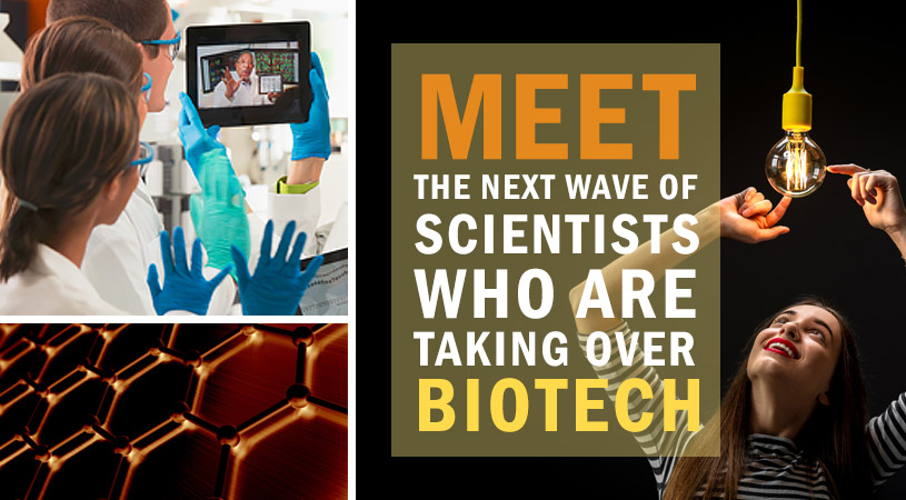Meet The Next Wave of Scientists Who Are Taking Over Biotech