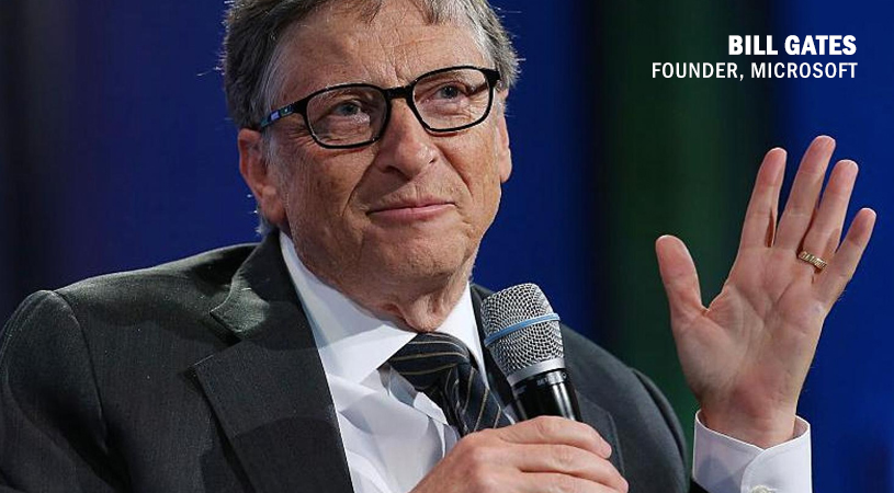 Bill Gates Talks of Biotech as Top 3 Career Choices