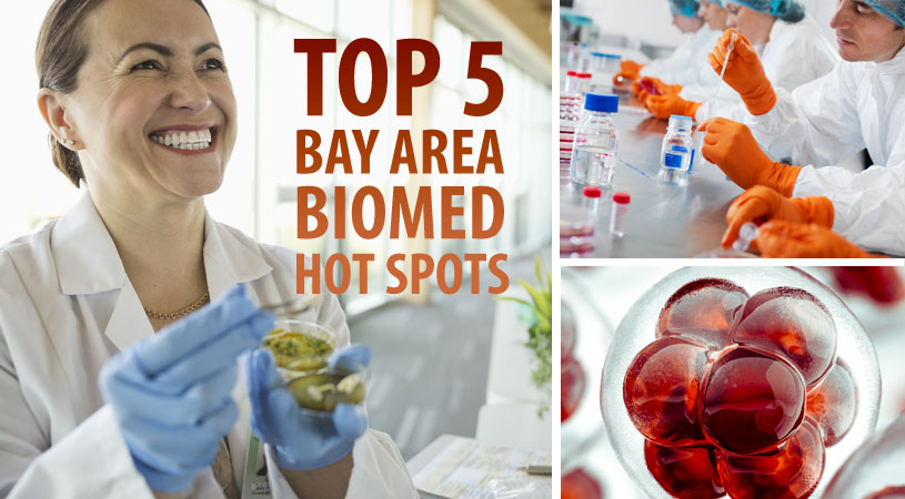 Top 5 Bay Area Biomed Hot Spots