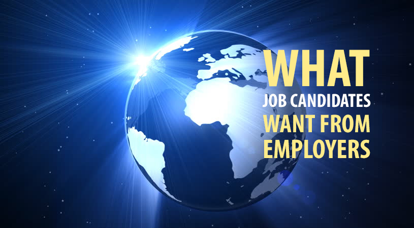What Job Candidates Want From Employers