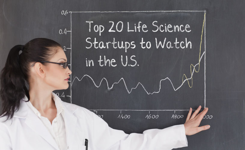 Top 20 Life Science Startups 2016