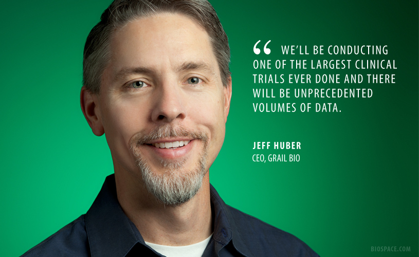 Grail CEO Jeff Huber Driven By Personal Tragedy to Develop Early Cancer Screening Technology