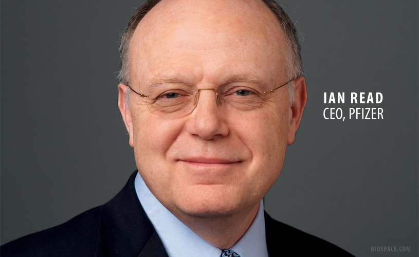 Investors Assure Pfizer's Ian Read: We Have Your Back