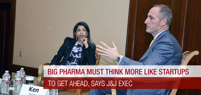 "Big Pharma Must Think More Like Startups To Get Ahead, Says Johnson & Johnson Exec"" Market, Says CEO"