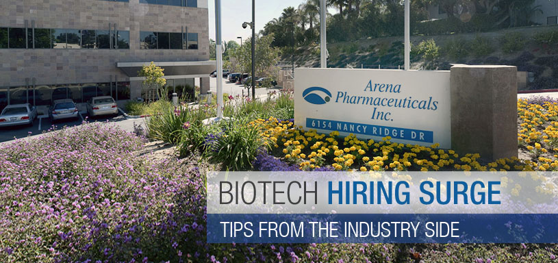 Biotech Hiring Surge: Trends To Watch; Industry Tips from Arena Pharmaceuticals