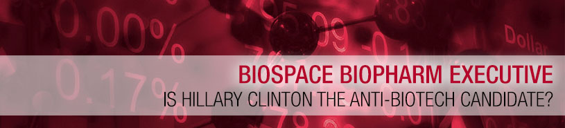 Is Hilary Clinton The Anti-Biotech Candidate?