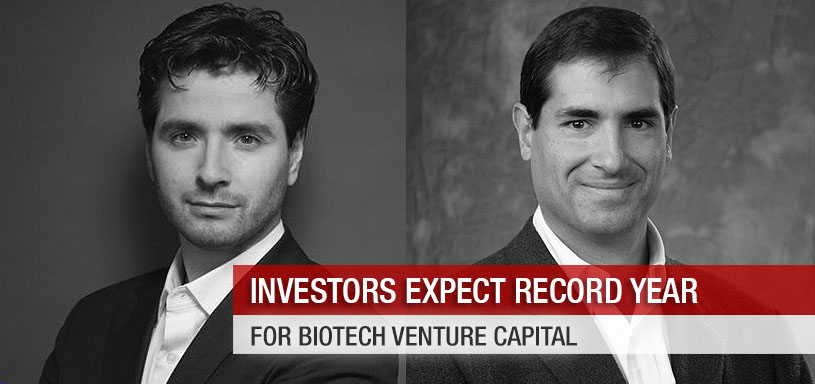 Investors Expect Record Year for Biotech Venture Capital