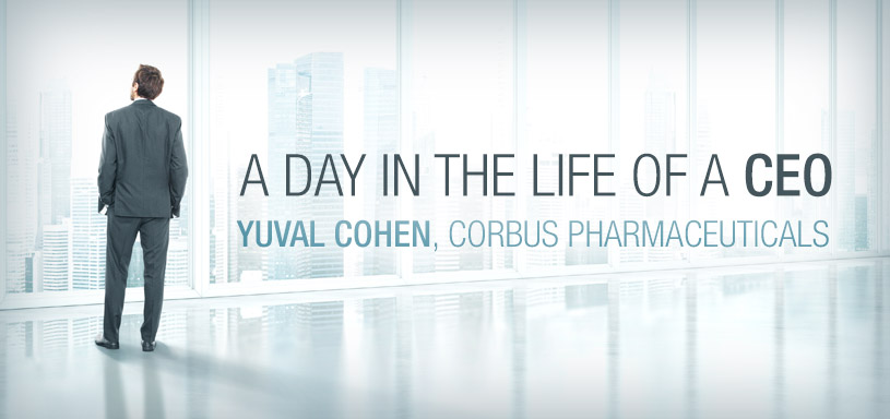 Day in the Life of a CEO—Yuval Cohen, Corbus
