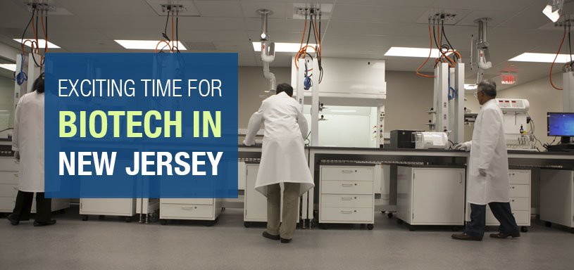 Exciting Time For Biotech In New Jersey
