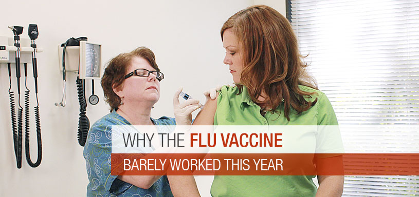 Why the Flu Vaccine Barely Worked This Year