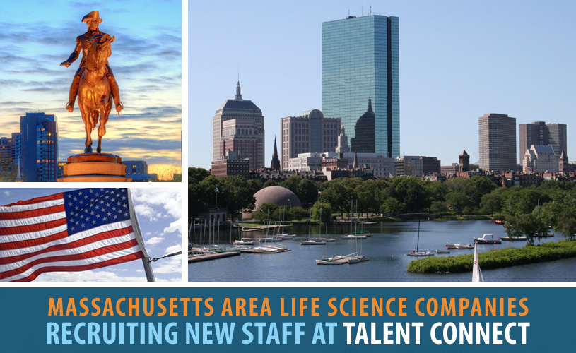 Massachusetts Area Life Science Companies Recruiting New Staff at Talent Connect