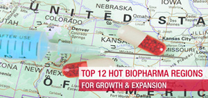 Top 12 Hot BioPharma Regions For Growth And Expansion