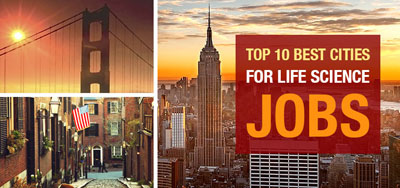 Top 10 Best Cities for Life Science Jobs