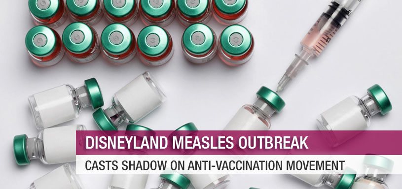Disneyland Measles Outbreak Casts Shadow on Anti-Vaccination Movement