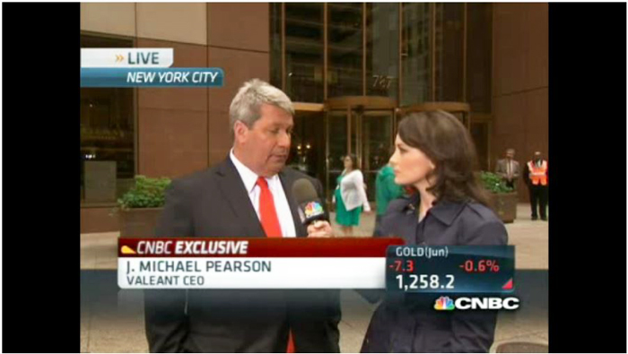 CNBC exclusive video: One-on-one with Valeant CEO
