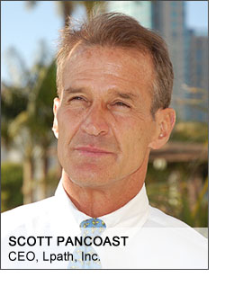 Lpath CEO Scott Pancoast