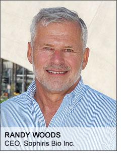 Sophiris CEO Randy Woods